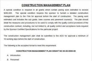 Construction Quality Management Plan Template by Plan Template Free Premium Templates Forms