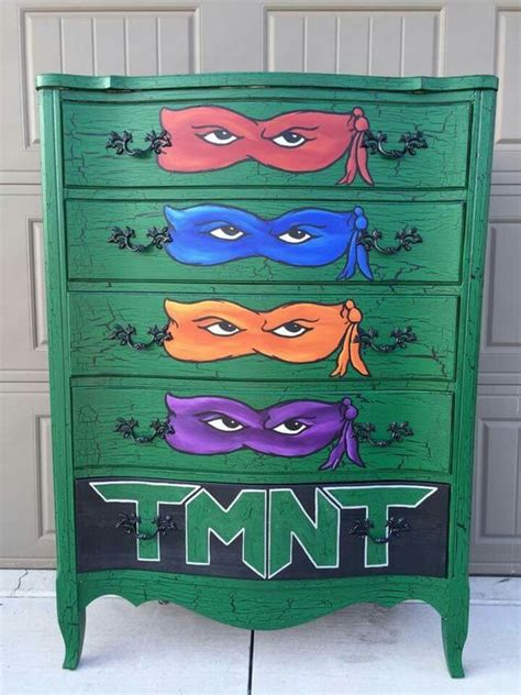 Teenage Mutant Ninja Turtles Furniture Kid S Room Turtle Bedroom Furniture