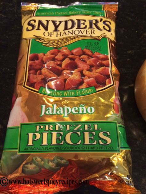 Snyder S Snyders Jalapeno 125gr snyders jalapeno pretzel sweet spicy recipes