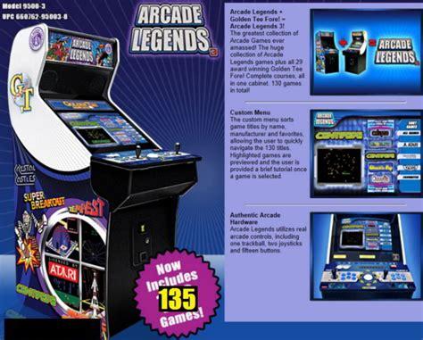 Arcade Legends Multi Cocktail Machine by Arcade Legends 3 Arcade Machines Factory Direct