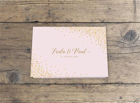 hochzeitseinladung gold quot sparkle n shine quot hochzeitseinladung klappkarte paper