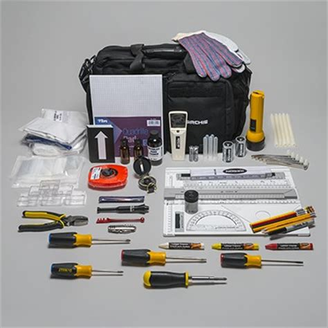 Forensic Photography Supplies by Traffic Investigation Kit Crime Sketching Forensic Supplies Sirchie
