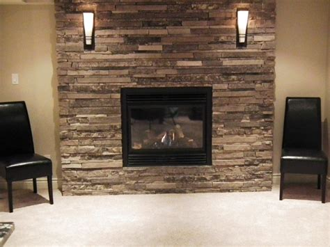 basement fireplace design renovation estate home