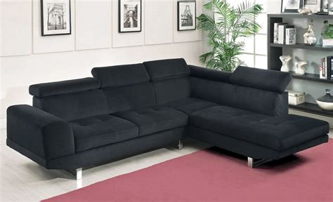 black sofa fabric holt black fabric sectional sofa