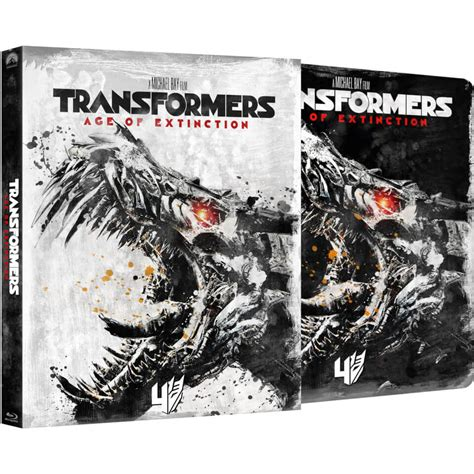 Transformers The Uk Exclusive Steelbook transformers 4 age of extinction zavvi exclusive limited edition steelbook with slipcase
