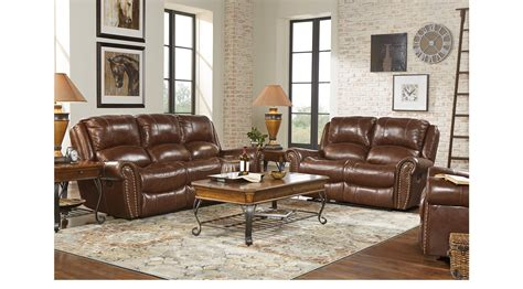 brown leather living room sets 2 499 99 abruzzo brown 3 pc reclining leather living room classic traditional