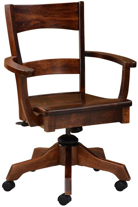 Amish Desk Chair by Dietrich Amish Ladderback Desk Chair Countryside Amish