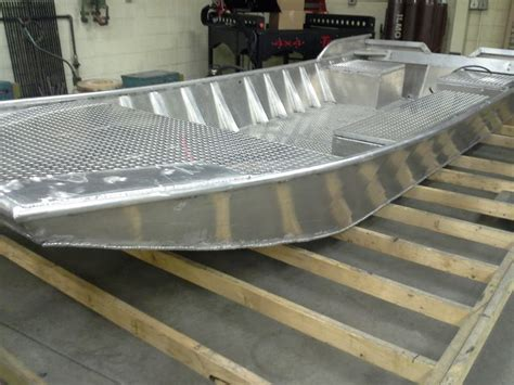 welding crafts and projects big river jon boat advanced welding project at