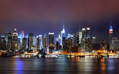 cityscape wallpaper new york skyline wallpapers wallpaper cave