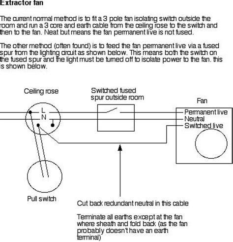 manrose bathroom extractor fan wiring diagram gallery