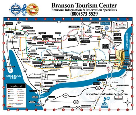 missouri attractions map best weather time frame for 2017 branson sdc vacation