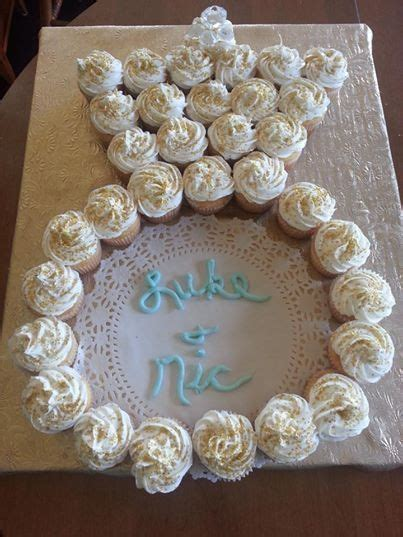 bridal shower cakes made out of cupcakes cupcakes in the shape of an engagement ring bridal shower dress cupcakes