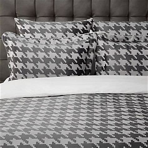 houndstooth comforter houndstooth bedding and charcoal on pinterest