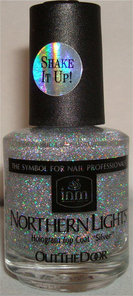 Northern Lights Hologram Top Coat by Northern Lights Holo Top Coat Hair And Nails