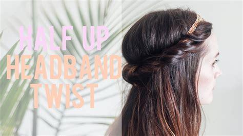 hair tutorial headband tuck treasures travels hair tutorial headband tuck treasures travels headband