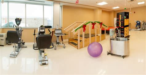therapy room rehabilitation clinic walenstadtberg pt room wyoming county community health system