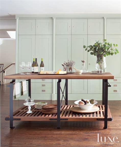 traditional blue green kitchen cabinets deco salon