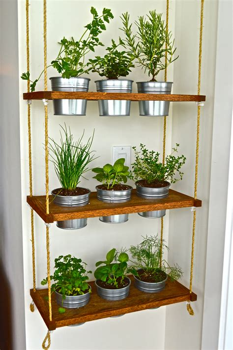 Condo Living Essentials Converting The Unused To Usable Wall Hanging Herb Garden
