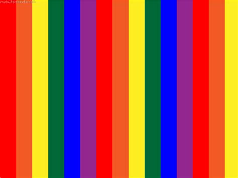 Rainbow Stripe rainbow stripes horizontal