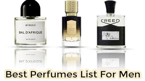 best list top 8 best perfumes list for with price 2018
