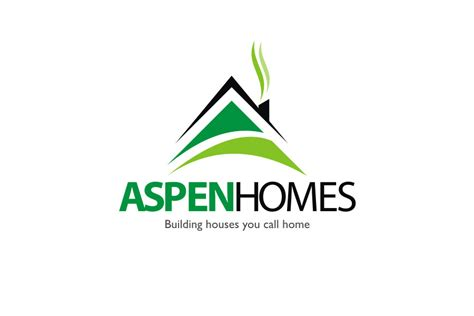 home builder logo design entry 504 by designmill for logo design for aspen homes nationally recognized new home
