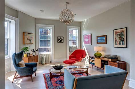 tiny mid century design on budget by andy pluta mid century modern mad retro furniture interior