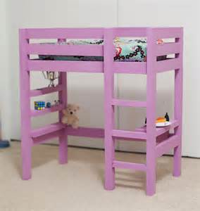 Woodworking Plans Loft Bed Desk by Woodwork Doll Loft Bed Plans Pdf Plans