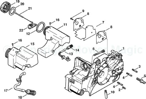 stihl 017 parts diagram image gallery stihl parts
