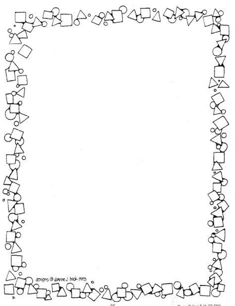 bordes de pagina colouring pages borders b w coloring pages