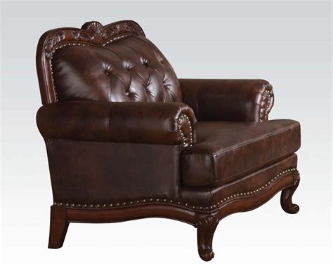 birmingham upholstery classic chair birmingham by acme furniture ac05947