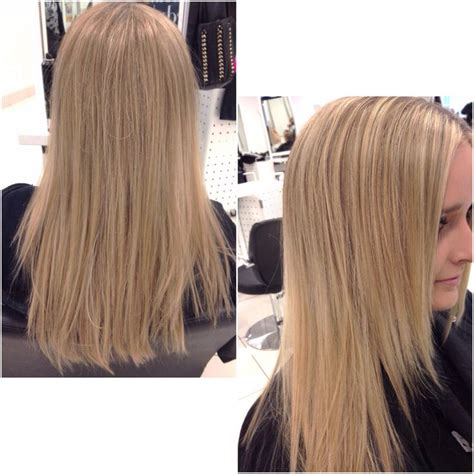 full vs half highlights half head highlights hair by brittany pinterest