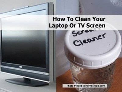 cleaning how to clean tv screen