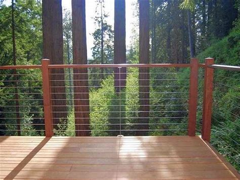 Stainless Steel Deck Railing Cable Deck Railing System Ayanahouse