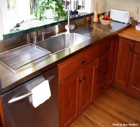 Residential Stainless Steel Countertops by Residential Architect Portfolio Easthope Design Marin