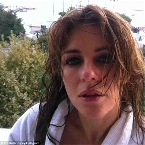 Elizabeth Hurley Faces Time Hollyscoop by Elizabeth Hurley And Damian Enjoy A Magical Visit To