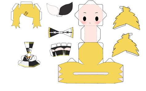 Kaito Papercraft - rin papercraft pictures to pin on pinsdaddy