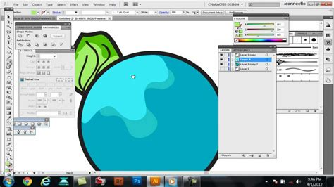 how to color in illustrator tutorial how to color shade color separate in adobe