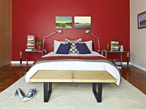 red paint for bedroom master bedroom paint color ideas hgtv