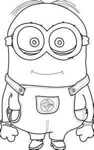 minion pictures to color cool minions coloring pages wecoloringpage