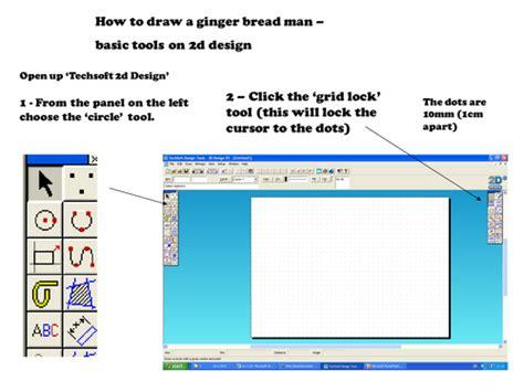 layout grid 2d tab 2d design tutorial ginger bread man by dondanij