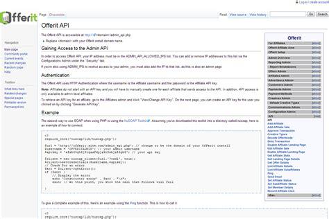 Api Documentation Wiki