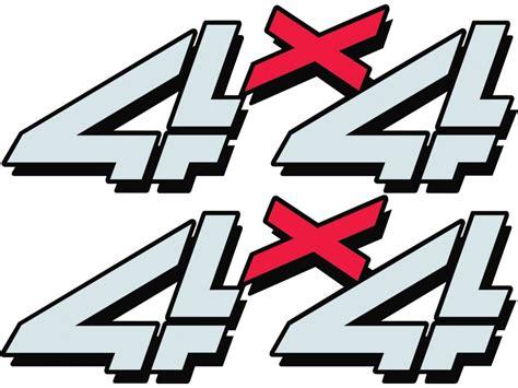 Chevy 4x4 Sticker