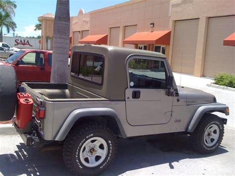 Jeep Tj Half Top Tj Xtop Half Hardtop Kit Gr8tops