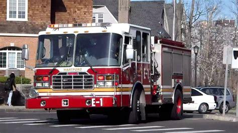 hartford fire department hartford fire department engine 1 responding to an ems