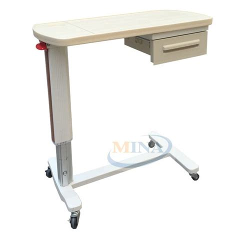 hospital bed tables mina cb002 abs plastic mobile and portable hospital bed