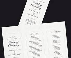 hobby lobby wedding program templates wedding templates