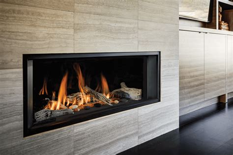 linear fireplaces gas valor l1 linear fireplace classic fireplace and bbq
