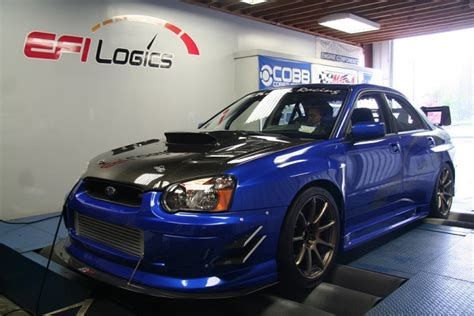 custom blue subaru sports car advisors the automobile enthusiast magazine