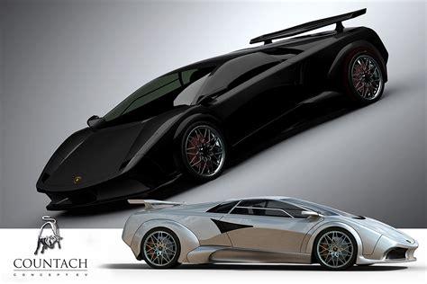 Countach concept car (Designer in thread!)   Lambo Power