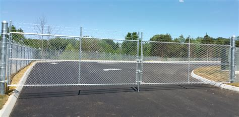 double swing gate commercial gates knoxville maryville lenoir city tn